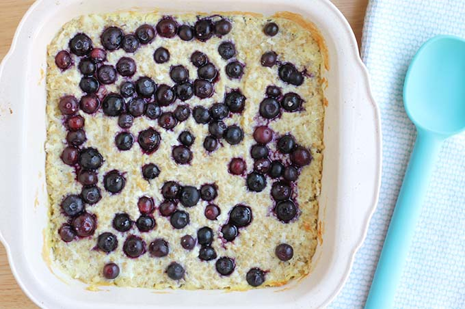 baked oatmeal recipe