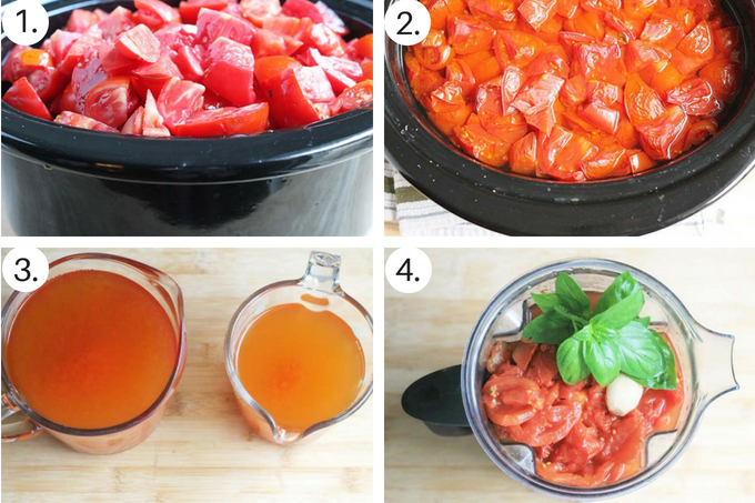 spaghetti sauce from fresh tomatoes step by step