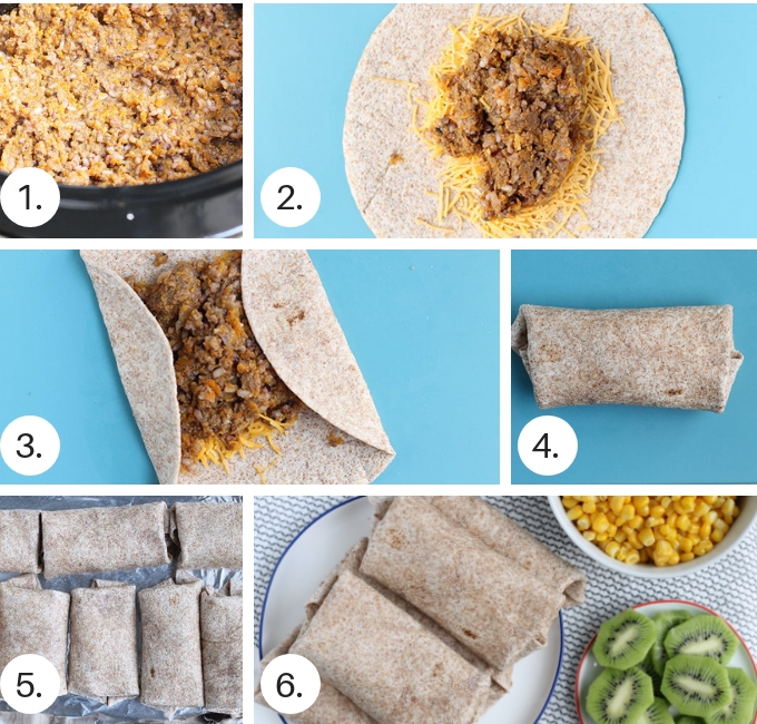 how to make beef burritos step by step 2