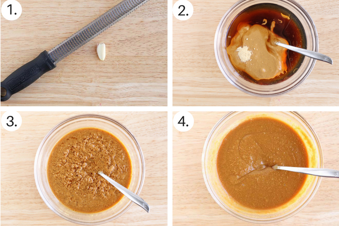 how to make easy peanut sauce Step by Step
