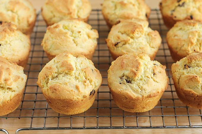 baked healthy corn muffin recipe
