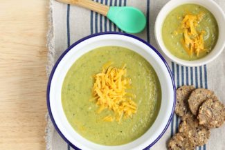 Healthy Broccoli Cheddar Soup Recipe (with Hidden Protein!)