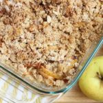 baked gluten free apple crisp