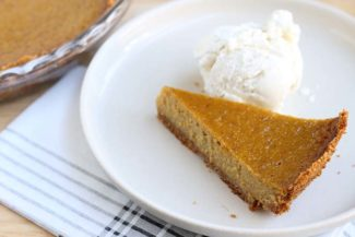 Best Butternut Squash Pie with Graham Cracker Crust