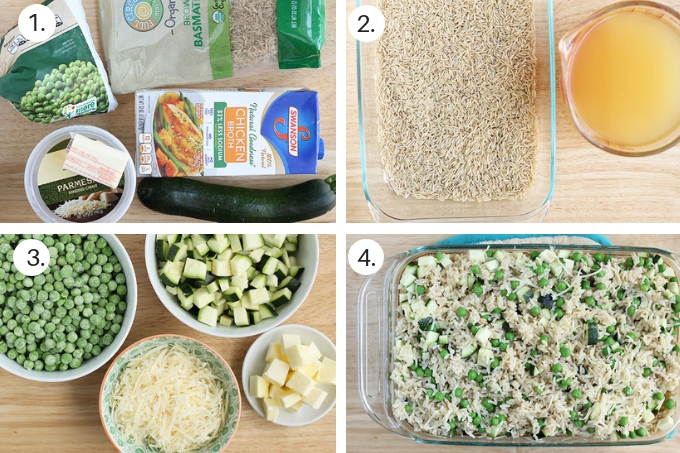 how to make brown rice risotto step by step