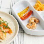 shrimp fajitas for parent and kid