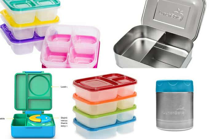 best lunchboxes for kids in grid of 5