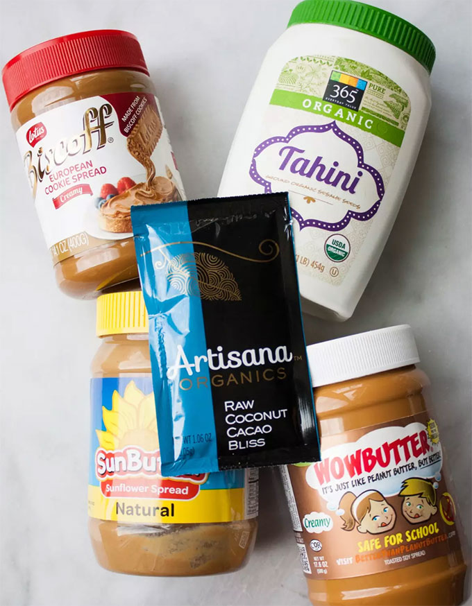 school safe alternatives to peanut butter