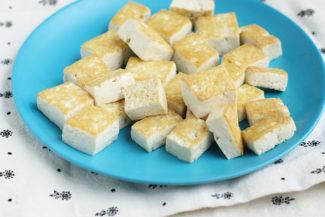 Quick Sesame Tofu
